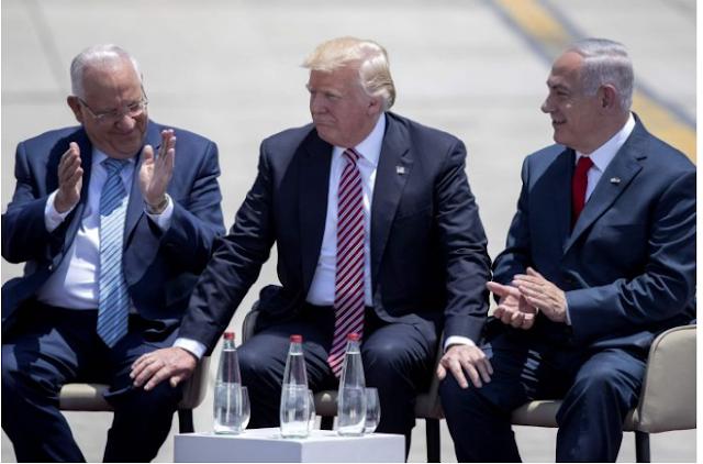 Trump cũng muốn gây áp lực lên Thủ tướng Israel Benjamin Netanyahu