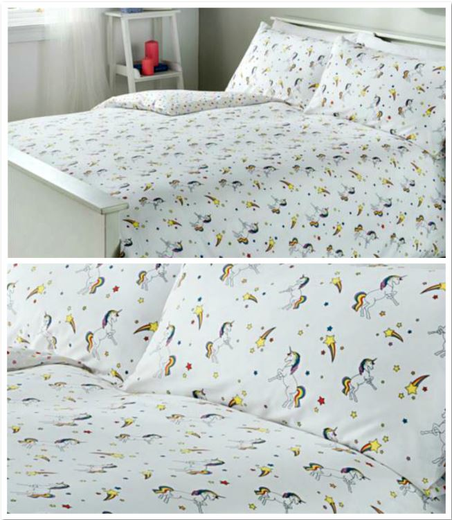 Unicorns Duvet Set From Asda