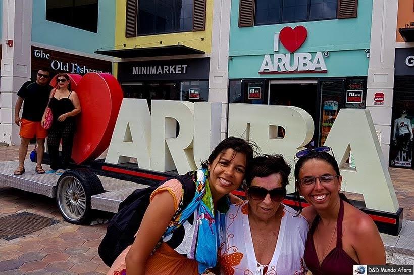 Aruba, terceira parada do navio - Diário de Bordo: cruzeiro pelo Caribe