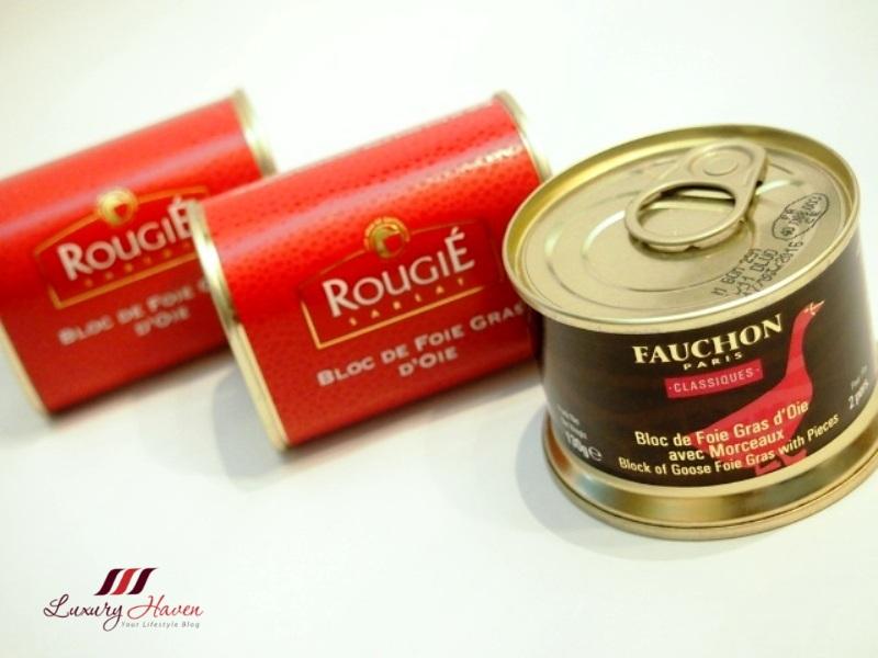 fauchon foie gras rougie goose liver recipe