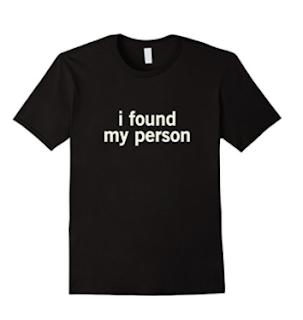 i found my person