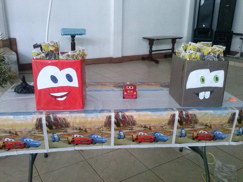 Ideas de fiesta de cumplea os de cars rayo mcqueen ideas de fiestas infantiles - Regalos para fiestas de cumpleanos infantiles ...