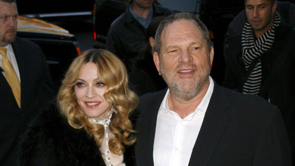 Madonna contó que fue acosada sexualmente por Harvey Weinstein
