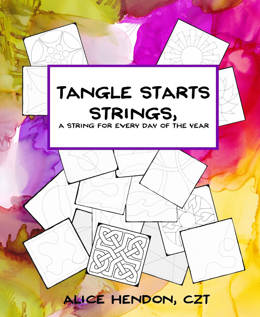 my new book Tangle Starts Strings, Alice Hendon, The Creator's Leaf