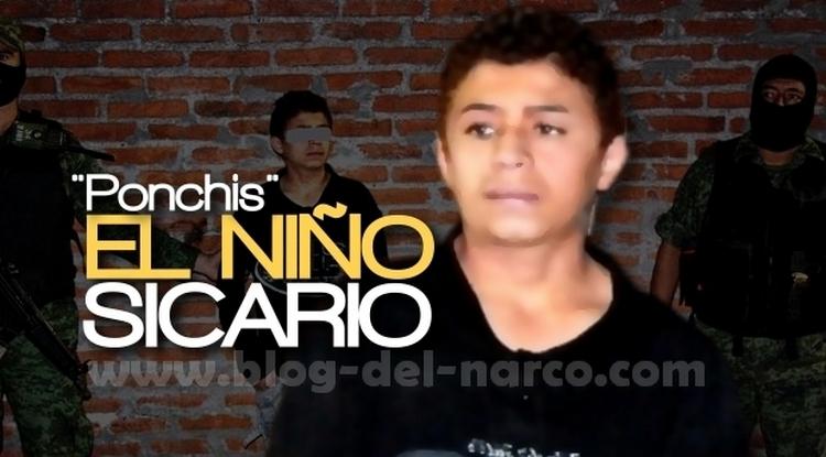 """""""El Ponchis"""" la historia del Niño Sicario que ejecutaba, torturaba y descuartizaba por encargo"""
