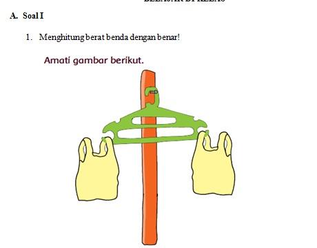 gambar soal online kelas 1 tema 8