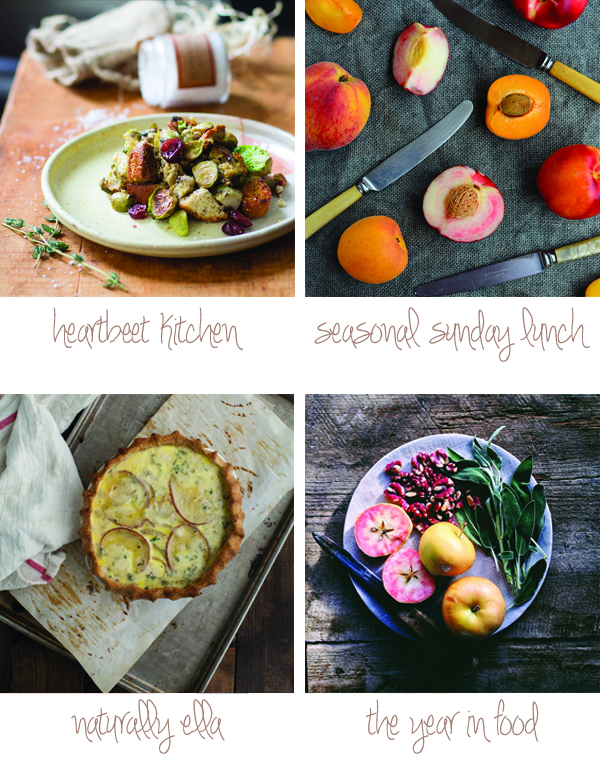 Seasonal food blog discoveries