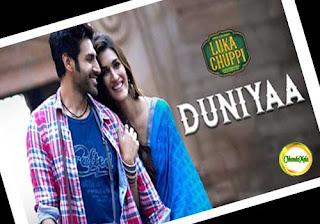 Duniya-Lyrics- Luka Chuppi Movie Song Poster
