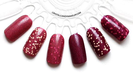 Misslyn Forbidden Fruits Collection Smoothie Sorbet Nail Polish Review Swatch