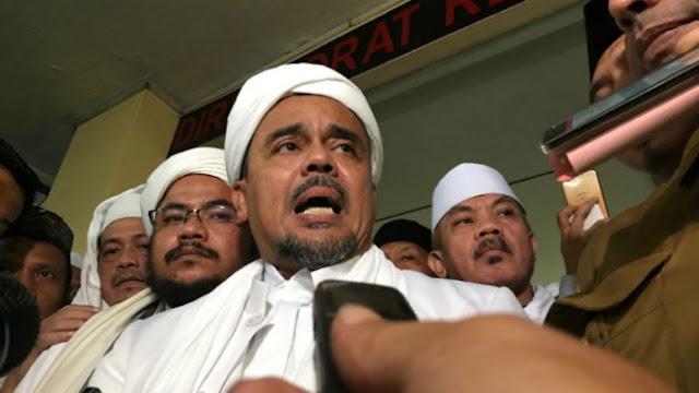 HRS Sudah Harga Mati Tak Akan Dukung Jokowi