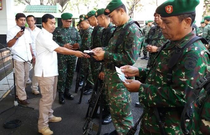 Korem 052/Wkr Periksa Kelengkapan Adm Prajurit