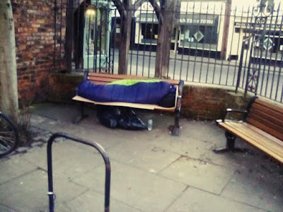 The Archbishop of York Sleeps In A Palace Whilst The Street Homeless Are Harassed By The Police.