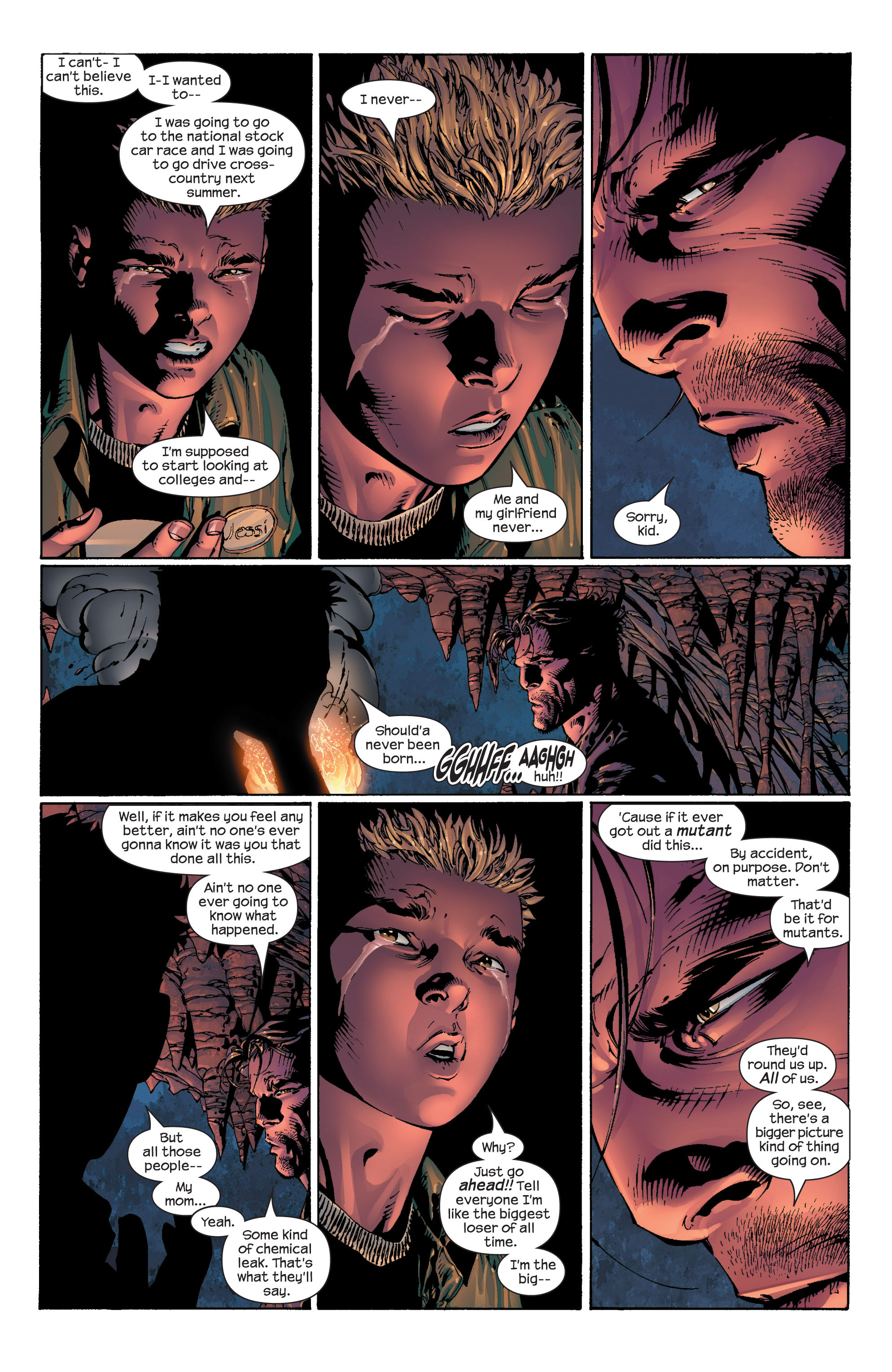 Read online Ultimate X-Men comic -  Issue #41 - 19