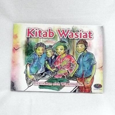 "Buku Cerita Fiksi, ""Kitab Wasiat"" Karya Winarno GN"