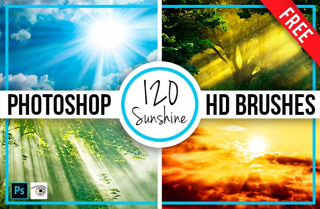 120 Sunshine Photoshop Brushes by Saltaalavista Blog