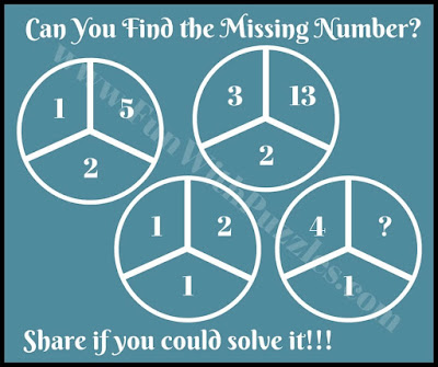 Maths Brain Teaser Puzzle