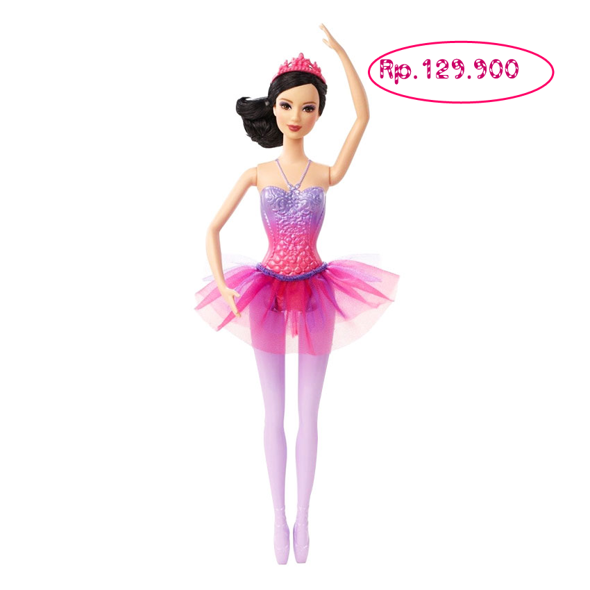 Boneka Barbie Ballerina - Ungu - Jual Barbie Mattel f6ac59c9b0