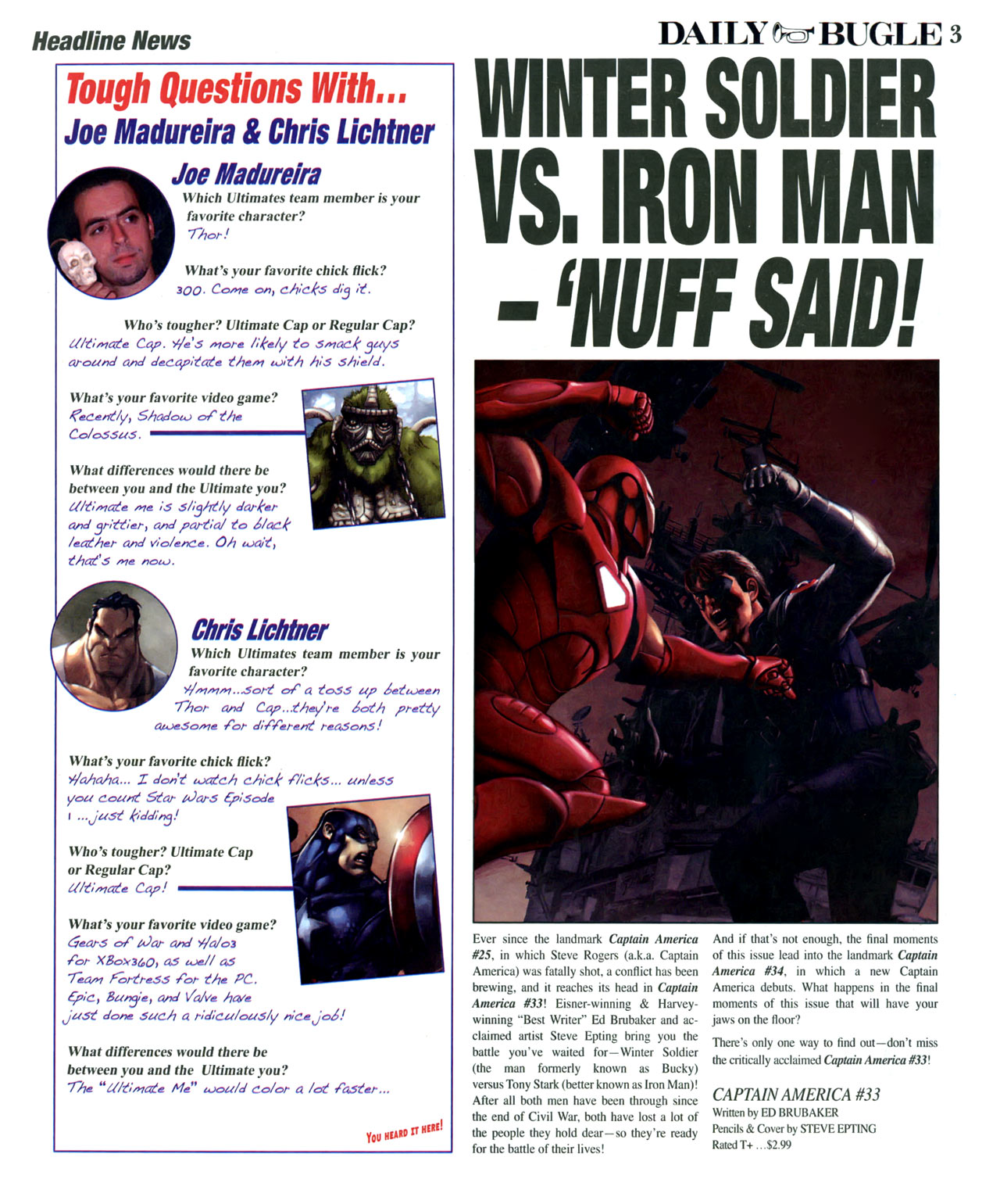 Read online Daily Bugle (2006) comic -  Issue #15 - 4