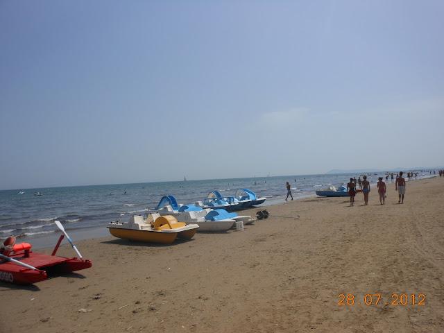 Praia de Rimini - Itália - Riviera Italiana