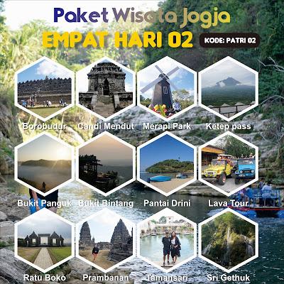 Paket tour Jogja 4 hari