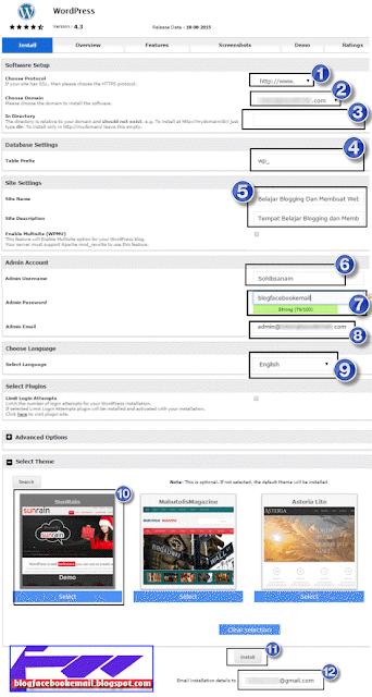 cara bikin nama dan deskripsi website di wordpress