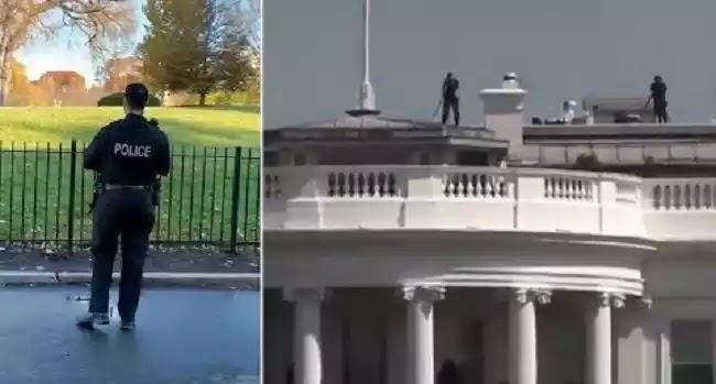 ΑΤΙΑ πετούν στον Λευκό Οίκο και το Καπιτώλιο? . Η NORAD ανακοινώνει τον αποκλεισμό του εναέριου χώρου