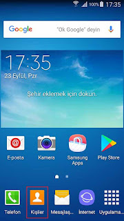 Samsung S4 Kişiler de Çift İsim Gösterme