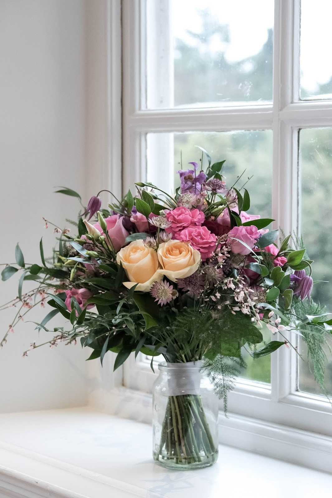 Bridal Bouquet by Green Fingers Florist