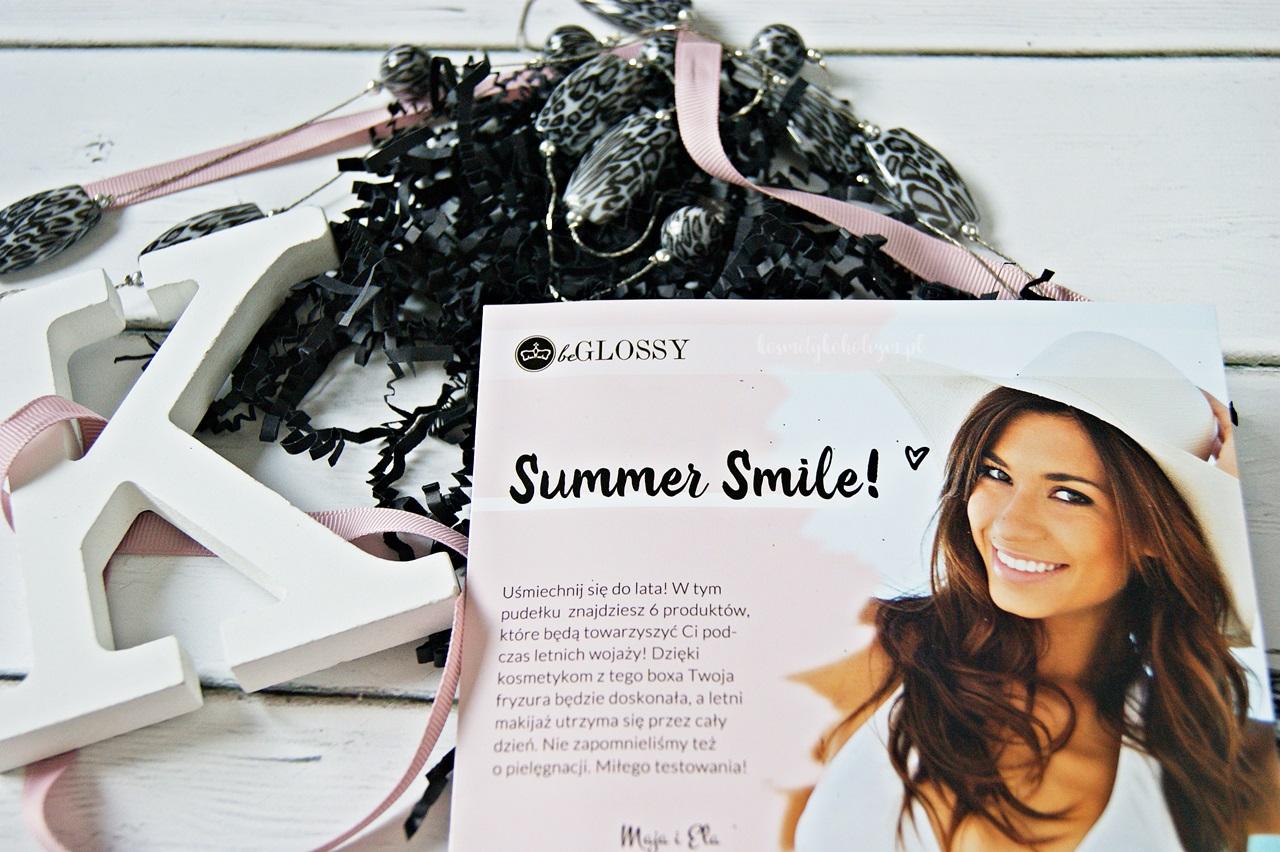 Summer Smile - czy sierpniowy beGLOSSY wywołał uśmiech na mojej twarzy?