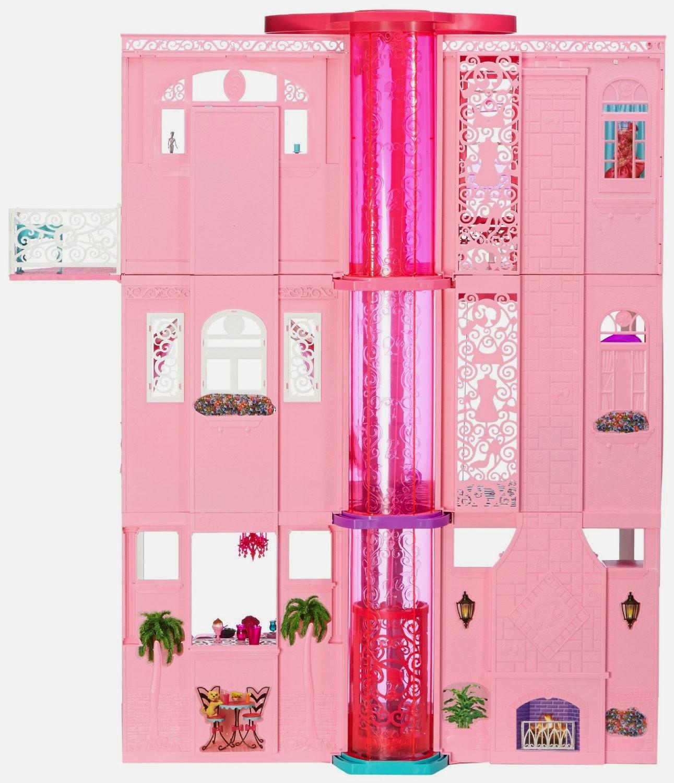 La nuova Casa dei Sogni di Barbie con l\'ascensore per il Natale 2013 !