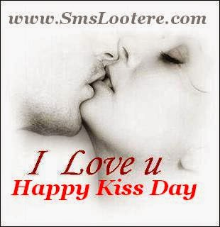 Celebrate Kiss Day with Passionate Kissing Hindi SMS Messages