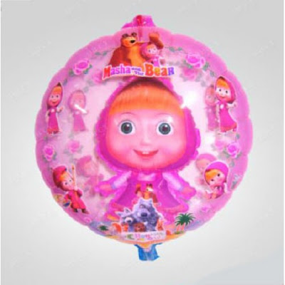 Balon Foil Karakter Marsha 2 in 1