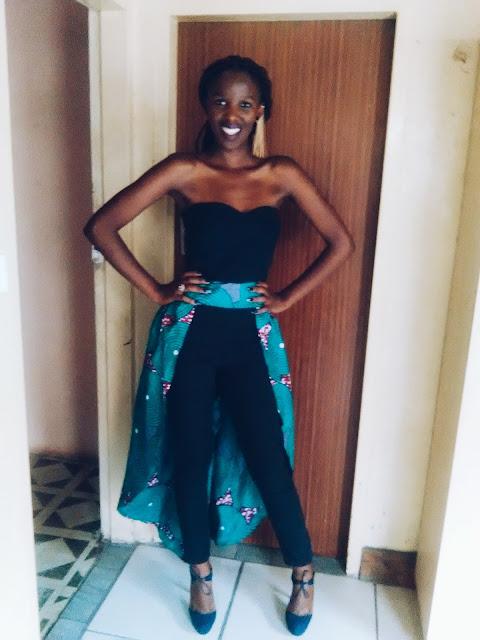 ankara jumpsuit, matric dance inspiration, matric dance jumpsuit
