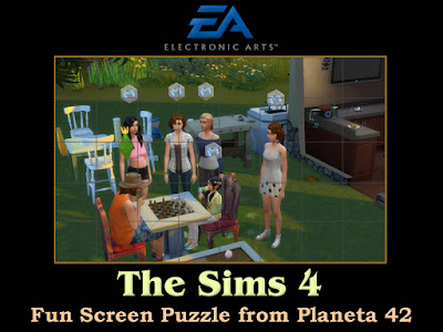 The Sims 4 Screen Puzzle