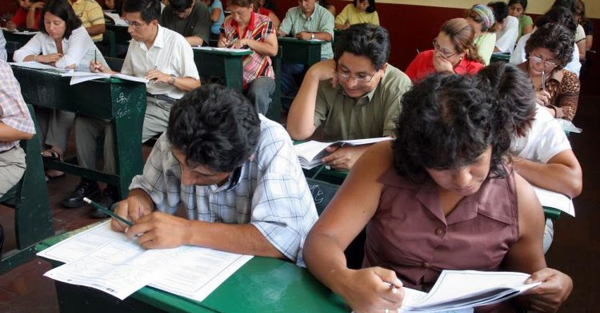 MINEDU: Docentes de Cajamarca, Lima, Puno y Piura lideraron participación en prueba de ascenso - www.minedu.gob.pe