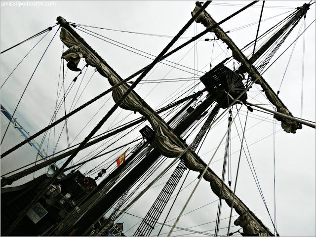 El Galeón Andalucía en su Visita del 2017 a Alexandria, Virginia