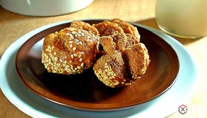 Resep cara membuat onde-onde ketawa coklat