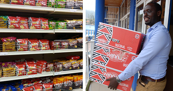 Pascal Murasira, founder of Minnaz Potato Chips in Rwanda