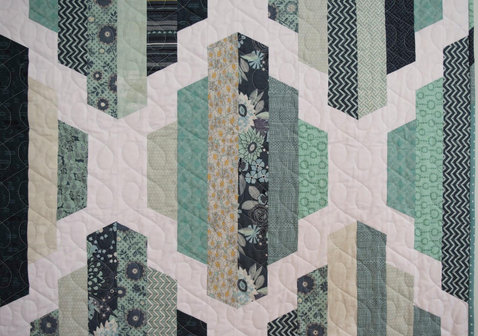 Pattern: Garden Lattice Quilt