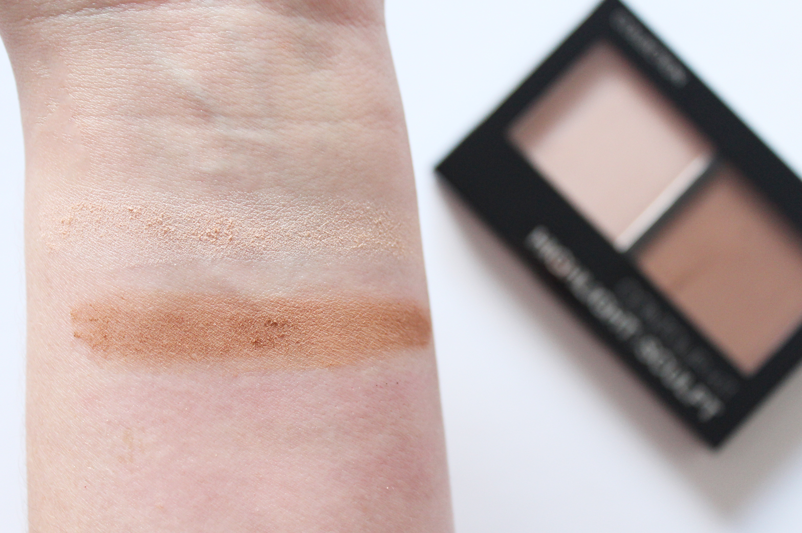 COLLECTION | Contour Kit Highlight + Sculpt Palette - Review + Swatches - CassandraMyee