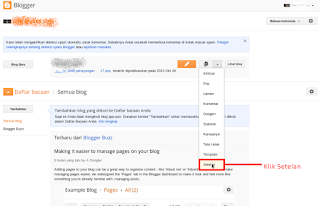 setting domain Masuk ke blogspot (1)
