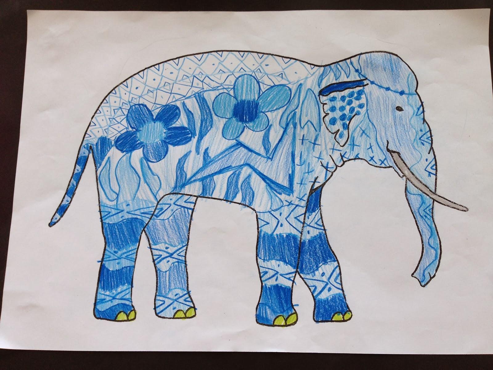 grundschule 2 0 indische elefanten. Black Bedroom Furniture Sets. Home Design Ideas