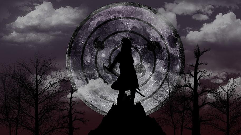 Sasuke Uchiha, Rinnegan, Sharingan, 4K, #11 Wallpaper