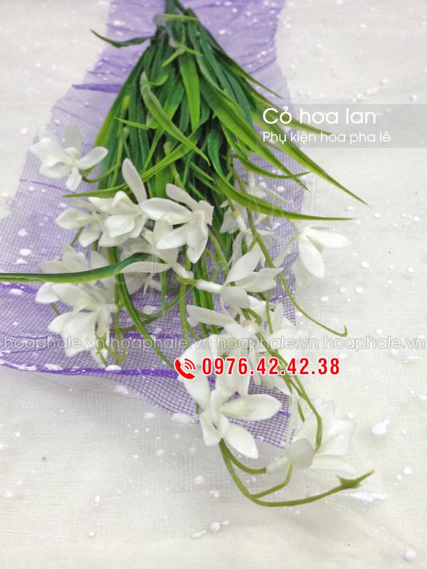 Cỏ hoa lan - Phụ kiện cắm hoa pha lê