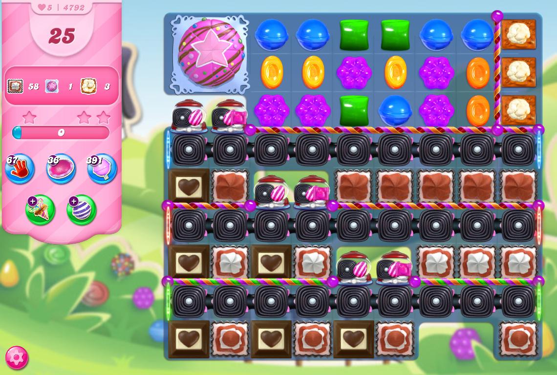 Candy Crush Saga level 4792