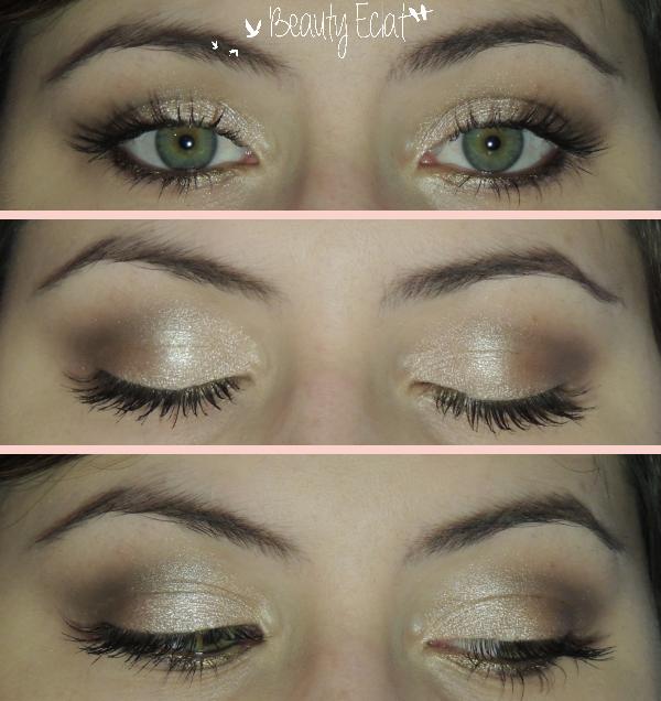 tutoriel maquillage yeux verts