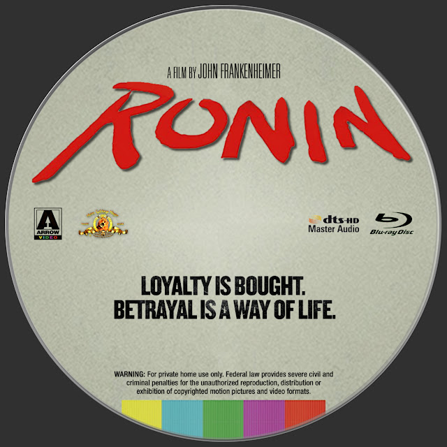 Ronin Bluray Label