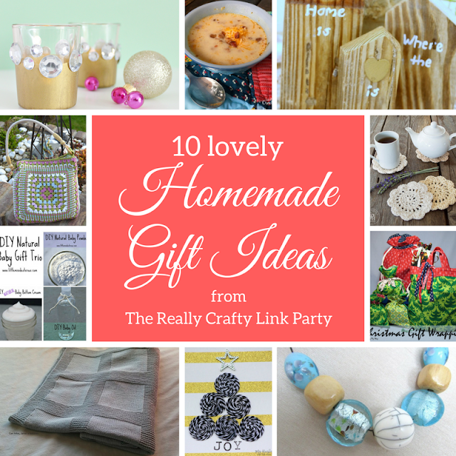 10 lovely homemade gift ideas