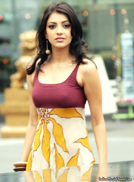 actress kajal agarwal hot tight churidar stills