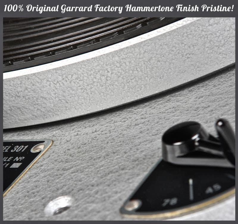 Mono and Stereo High-End Audio Magazine: Garrard 301